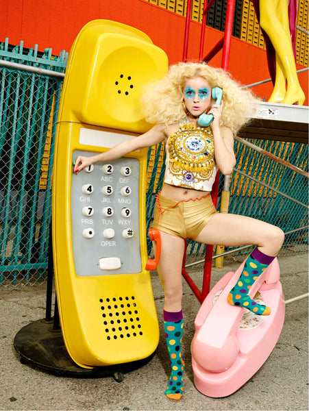 Photo by David LaChapelle for Happy Socks