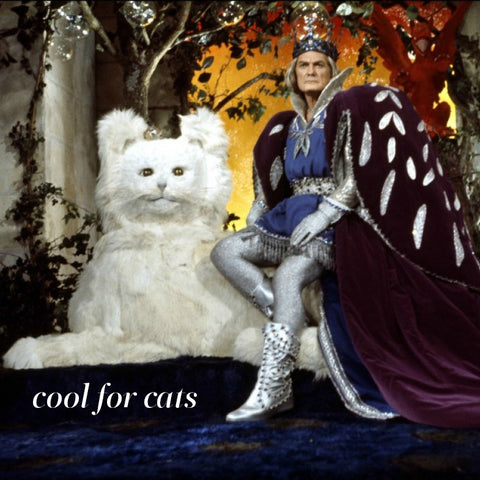 Cat throne from the movie Peau D'Ane