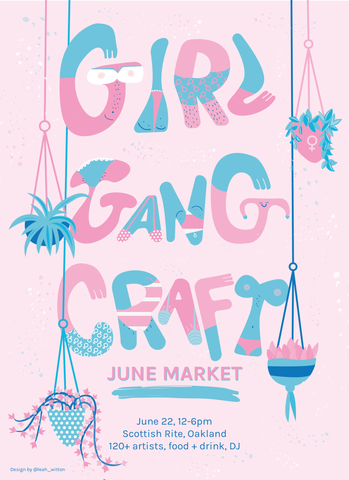 Girl Gang Craft poster