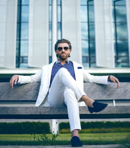 Photo of man in white pants by Yasin Gündogdu