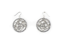 Load image into Gallery viewer, Silver Circle Earrings - Rondure
