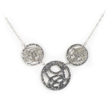 Load image into Gallery viewer, Silver Circle Necklace by Darling Marcelle