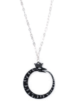 Load image into Gallery viewer, ouroboros necklace