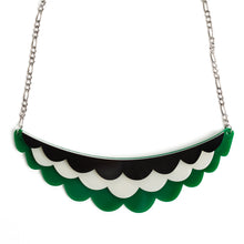 green collar necklace