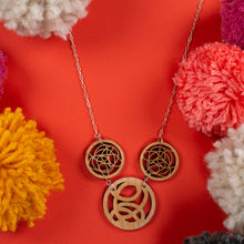Bamboo Three Circle Necklace - Trio