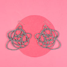 Load image into Gallery viewer, Silver Statement Earrings - Grande