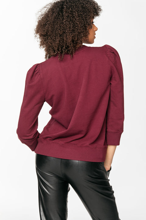 Structured French Terry Top