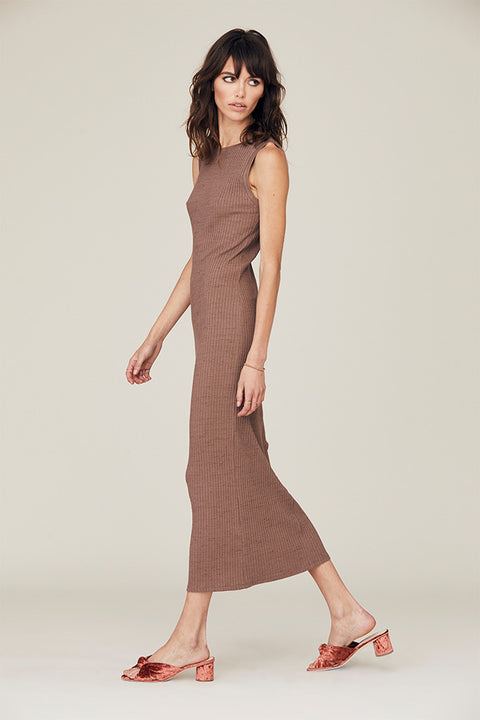 Zoe Scoop Back Midi Dress