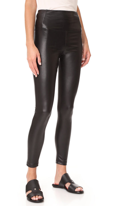David Lerner Vegan Leather Legging