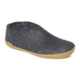 Glerups Gum Rubber Sole Black Shoe