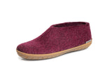 Glerups Shoe Cranberry Rubber