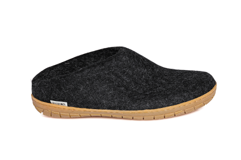 Glerups Slip-on Charcoal Rubber