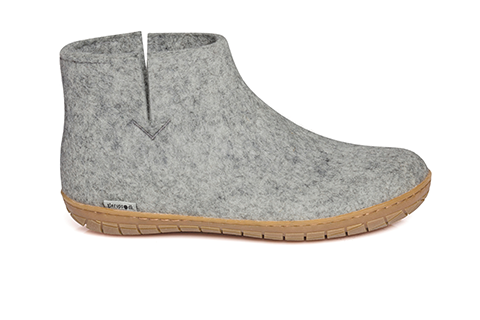 Glerups Boot Grey Rubber