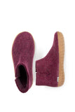 Glerups Boot Cranberry Rubber