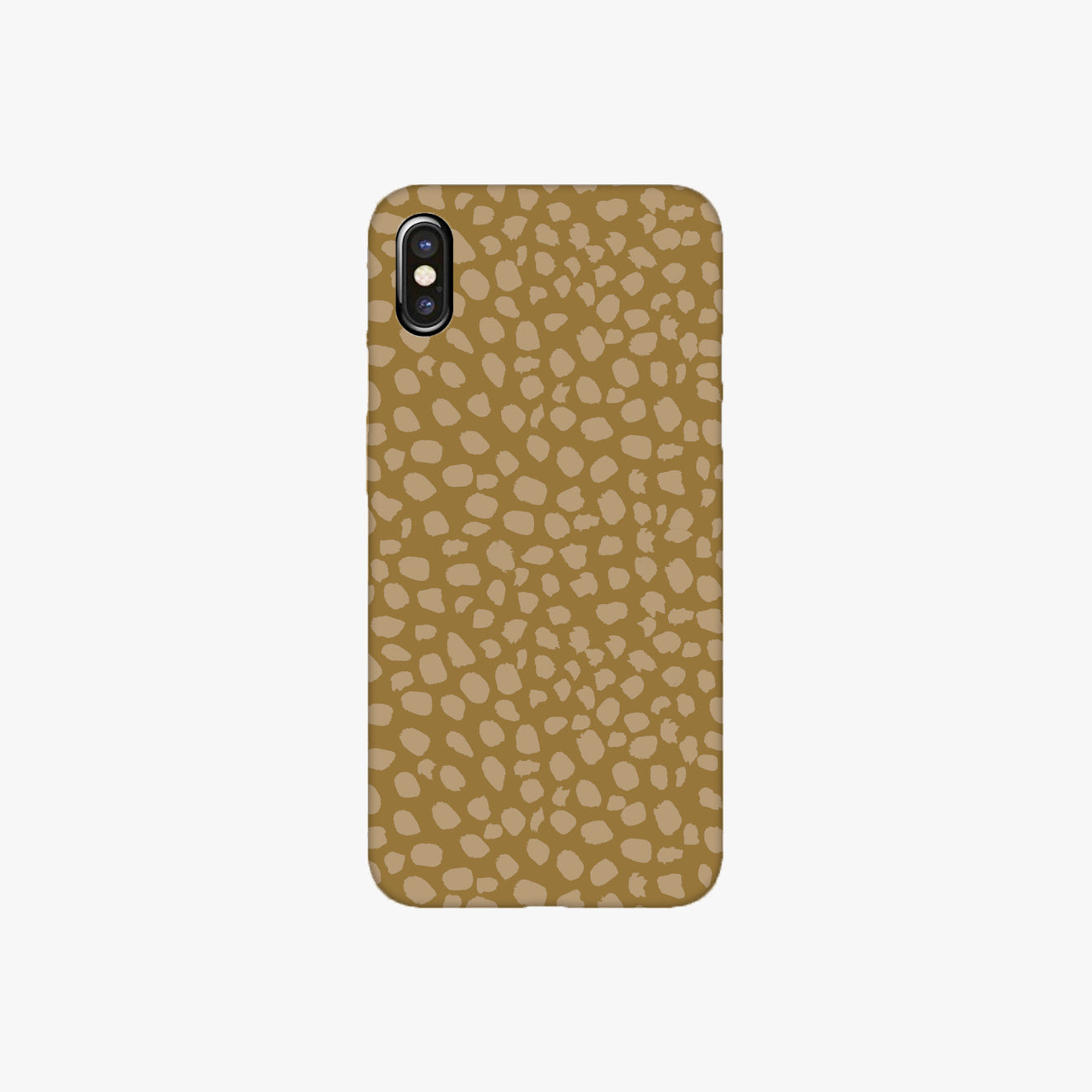 Beige Autumn Dot Phone Case
