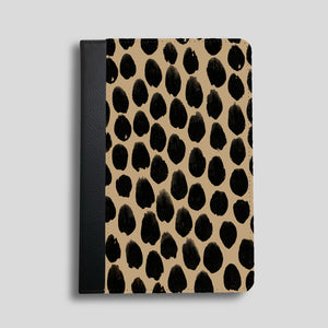 Beige Spot Faux Leather iPad Case