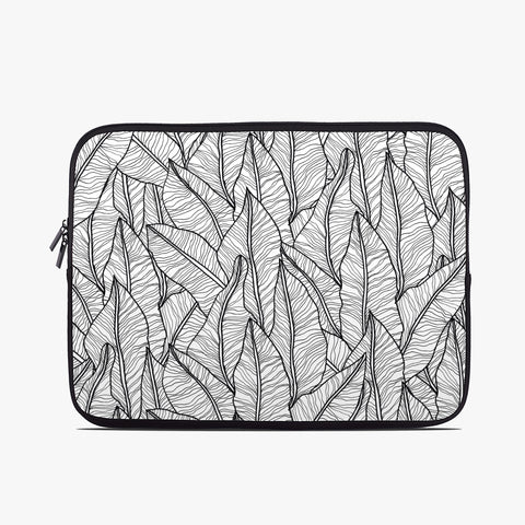 Botanical Leaf Neoprene Laptop Case