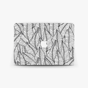 Botanical Leaf Macbook Skin