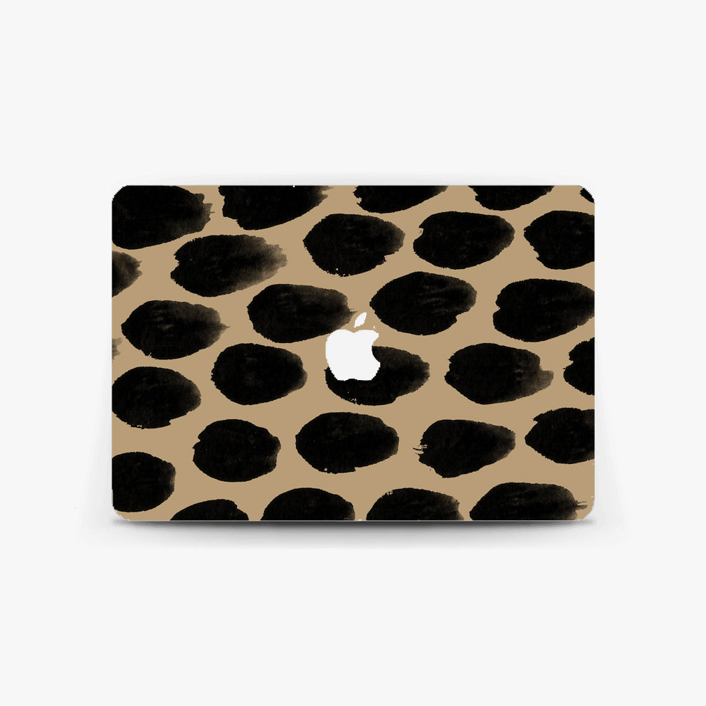 Beige Spot Macbook Skin
