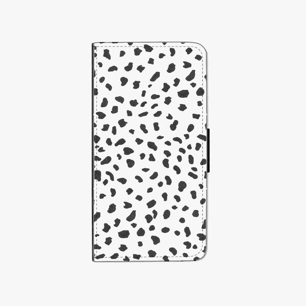 Dalmatian Faux Leather Phone Case