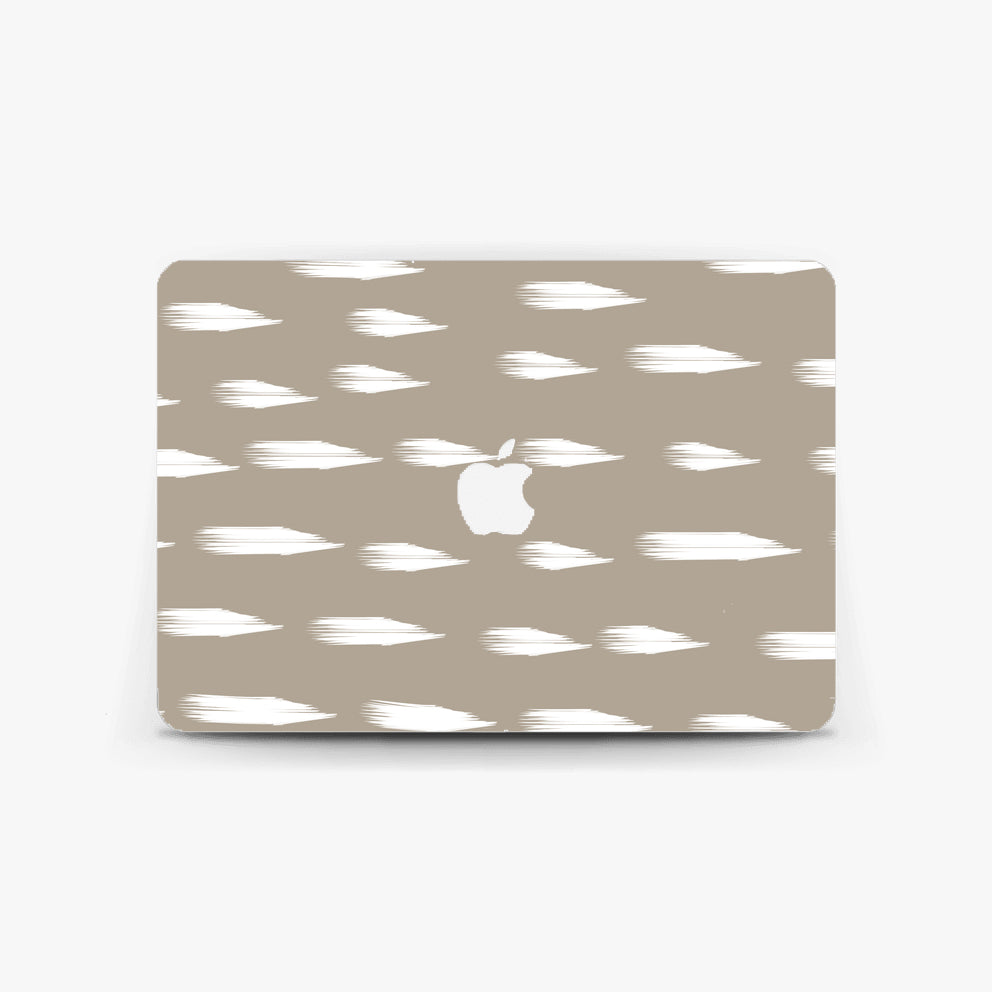 Greige Dash Macbook Skin