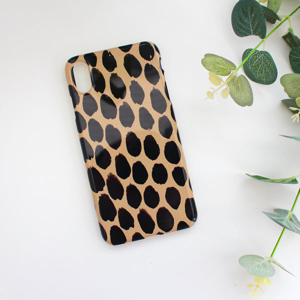 Beige Spot Phone Case