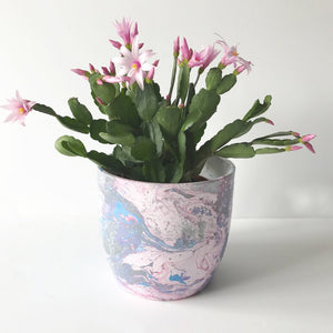 Unicorn Marble Ceramic Plant Pot