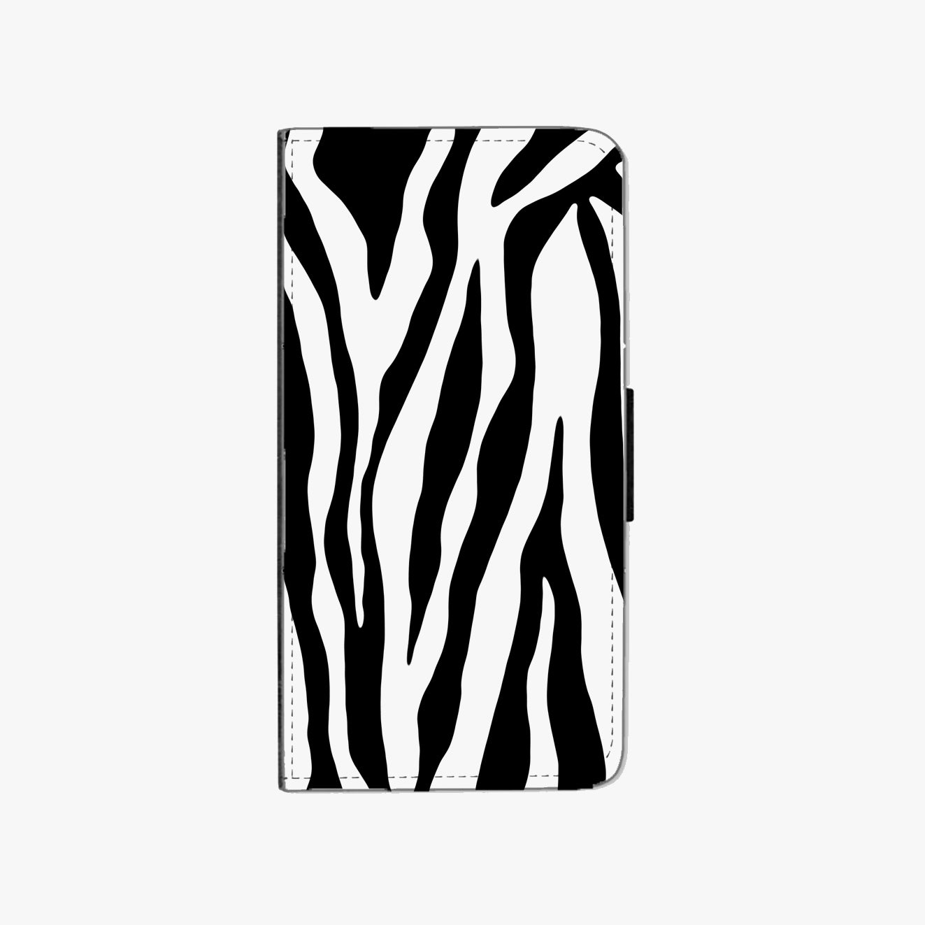 Zebra Faux Leather Phone Case