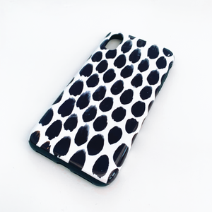 Monochrome Spot Deluxe Tough Phone Case