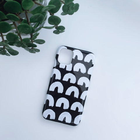 Monochrome Rainbow Phone Case