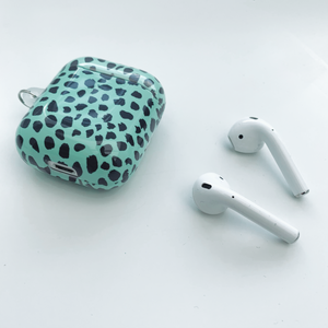 Spring Sage Spots AirPod Case