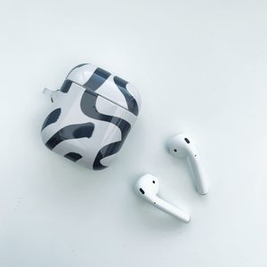 Abstract Greige AirPod Case