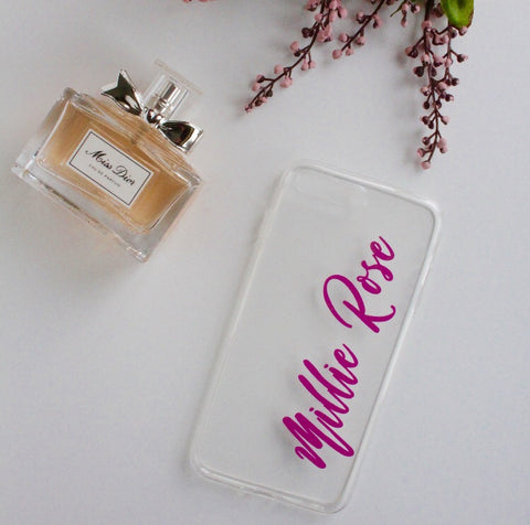 Barbie Transparent Phone Case
