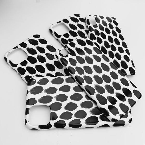 Monochrome Spot Phone Case