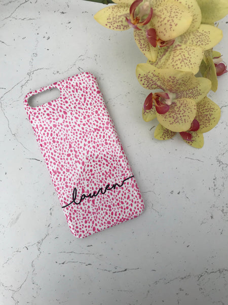 Pink Orchid Phone Case