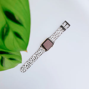 Dalmatian Spot Vegan Leather Apple iWatch Strap