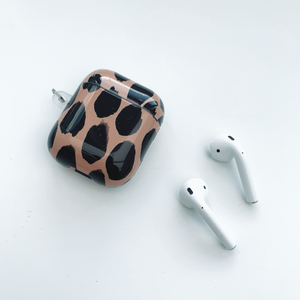 Beige Spot AirPod Case