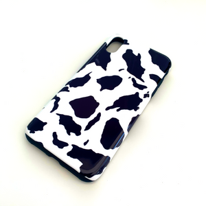 Cow Print Deluxe Tough Phone Case