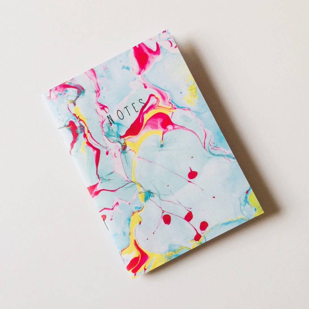 Marble Pop Paperback A5 Lined Notebook