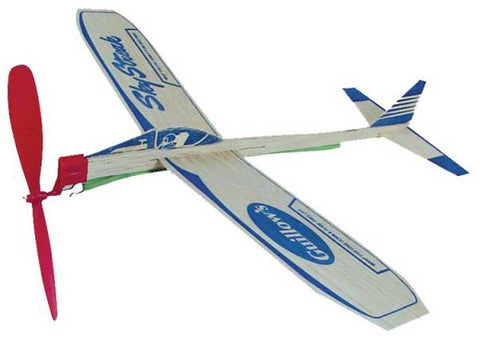Sky Streak Balsa Wood Powered Plane