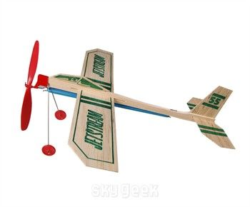 Jetstream Balsa Wood Powered Plane