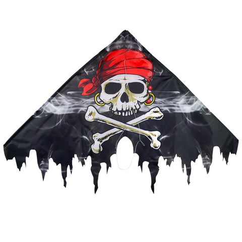 "Smokin' Pirate Fringe 50"" Delta Kite"