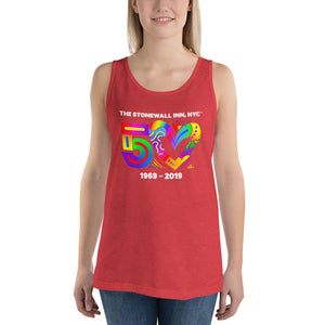 50 Love Full Unisex  Tank Top