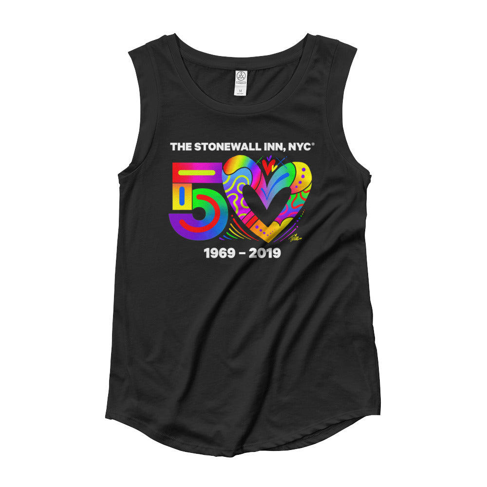 50 Love Cap Sleeve T-Shirt