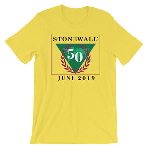 World Connection #Stonewall50 Unisex Short Sleeve Jersey T-Shirt