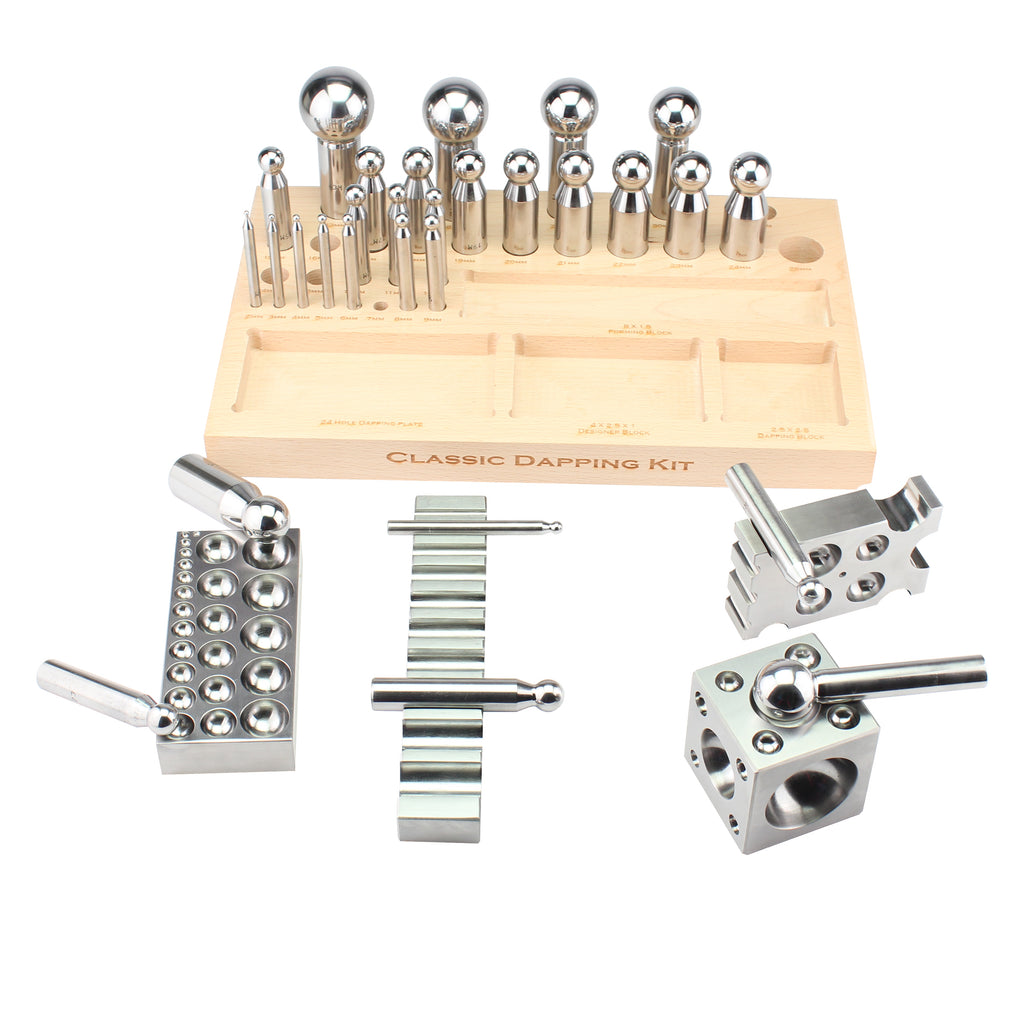 Classic dapping kit jewelry tools, jewelry making tools,jewellery tools