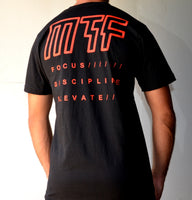 Short Sleeve T Shirt - Focus (Black)