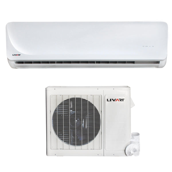 Livart 24,000BTU Single Zone System with Heat Pump