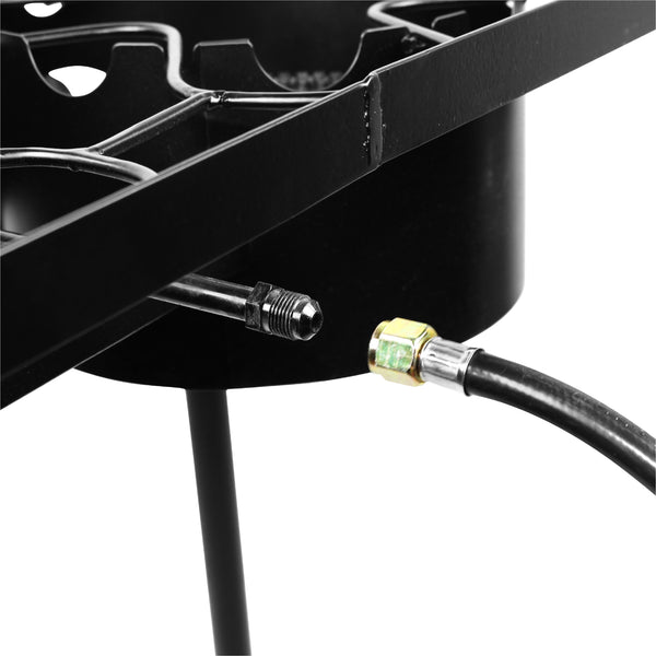 Vulcanus 2-20H High Pressure Cast Iron Double Burner, Free shipping (Excluding HI, AK)