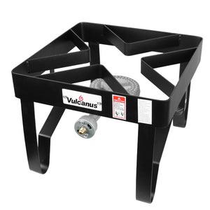 Vulcanus 2-12H High Pressure Cast Iron Jet Burner, Free shipping (Excluding HI, AK)